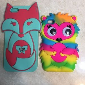 Accessories - 2 iPod touch cases! Perfect condition